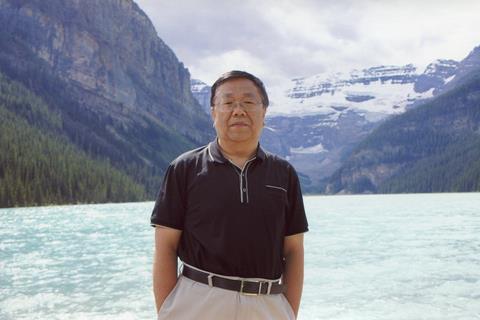 Qiu in Banff, Canada, in 2012